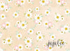 Daisy Mae (With Ivory) Floral Backdrop