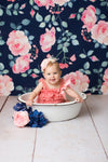 Alice Floral Backdrop