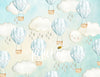 Sweet Skies Pastel Blue Photography Backdrop