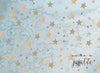 Twinkle Twinkle Little Star Blue Photography Backdrop