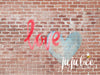 Valentine - Graffiti Love Photography Backdrop