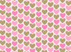 Valentine - Pink Hearts Photography Backdrop