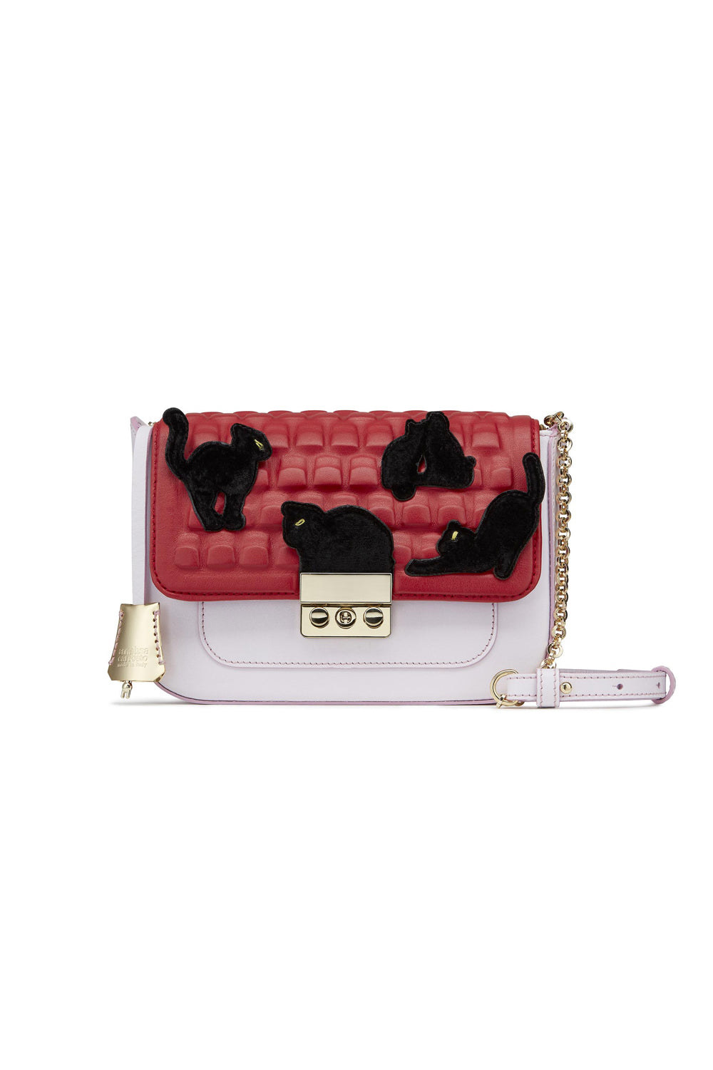 Kittens Leather Mini Bag - The Bobby Boga