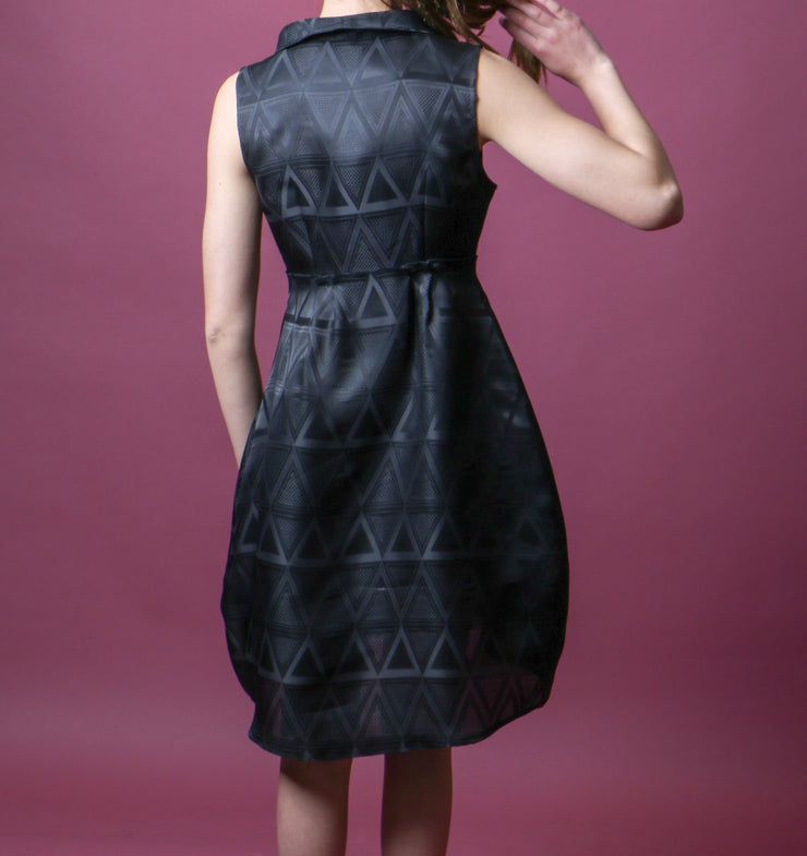 Jacquard Silk Dress