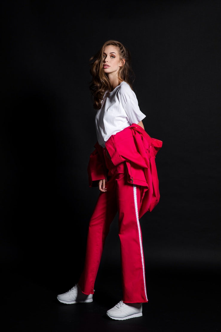 Flayer Red Trousers