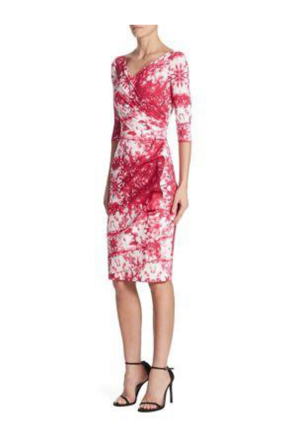 Briseide Off-the-Shoulder Printed Cocktail Dress - The Bobby Boga