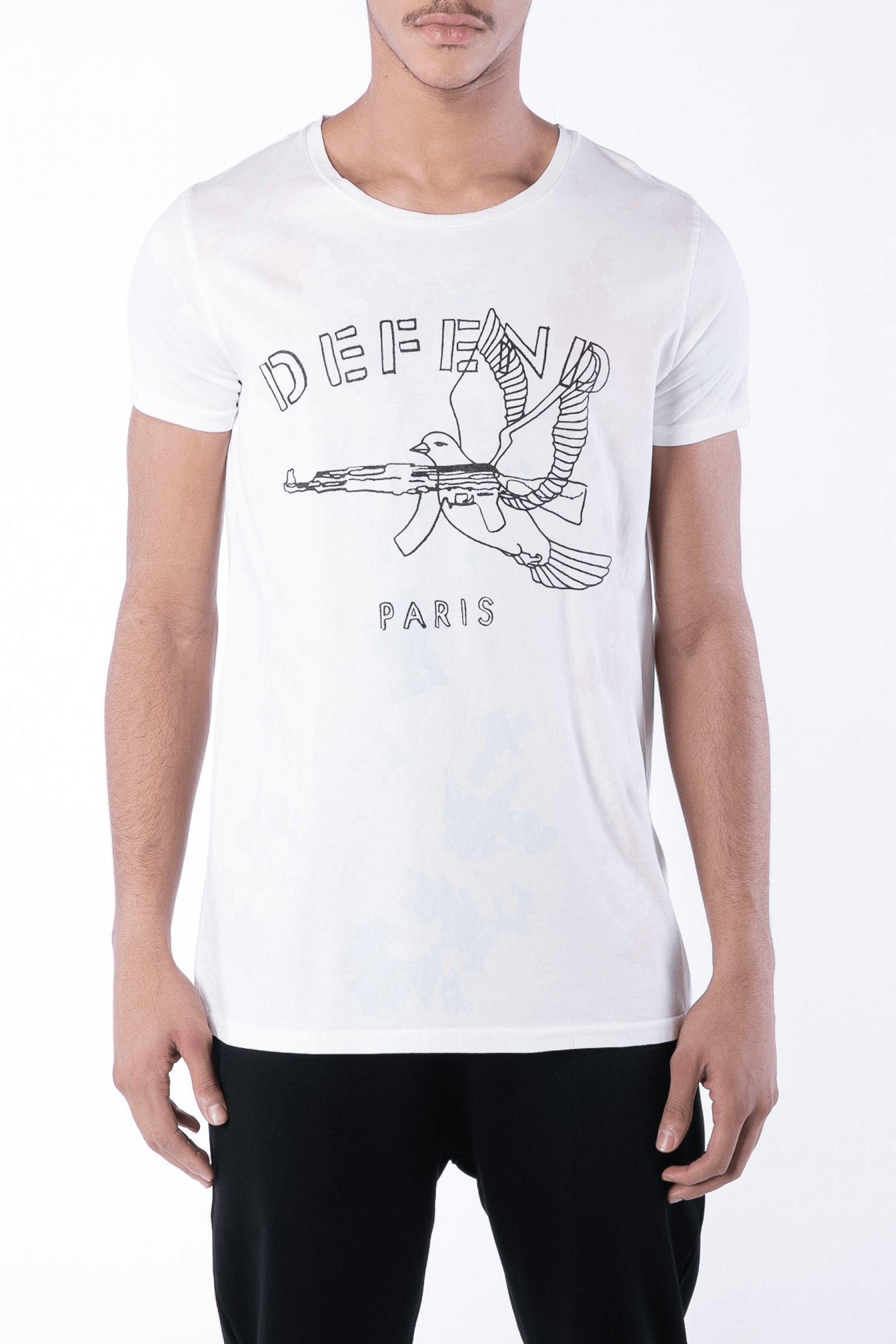 Kazan Cotton Tee White - The Bobby Boga