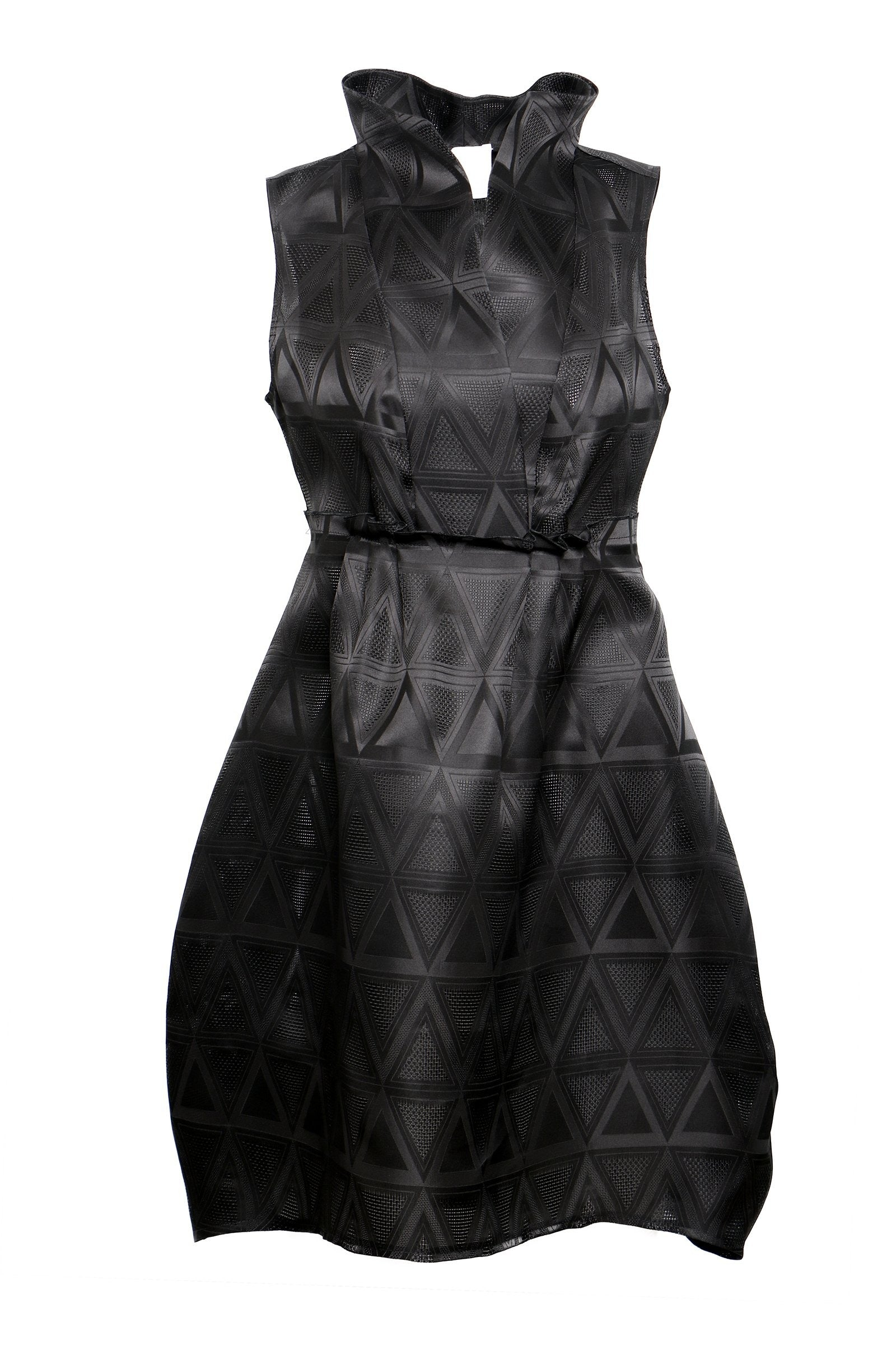 Jacquard Silk Dress - The Bobby Boga