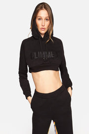 Crop Cotton Sweatshirt