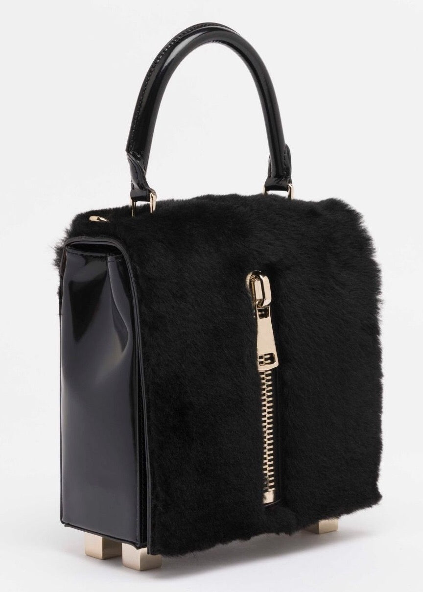 LK Memphis Leather Black Mini Bag - The Bobby Boga