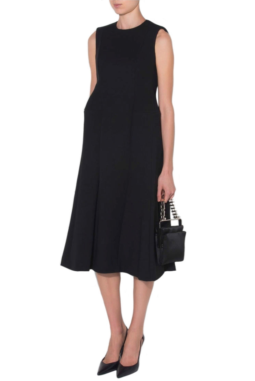 Stretch Hourglass Gabardine Dress - The Bobby Boga