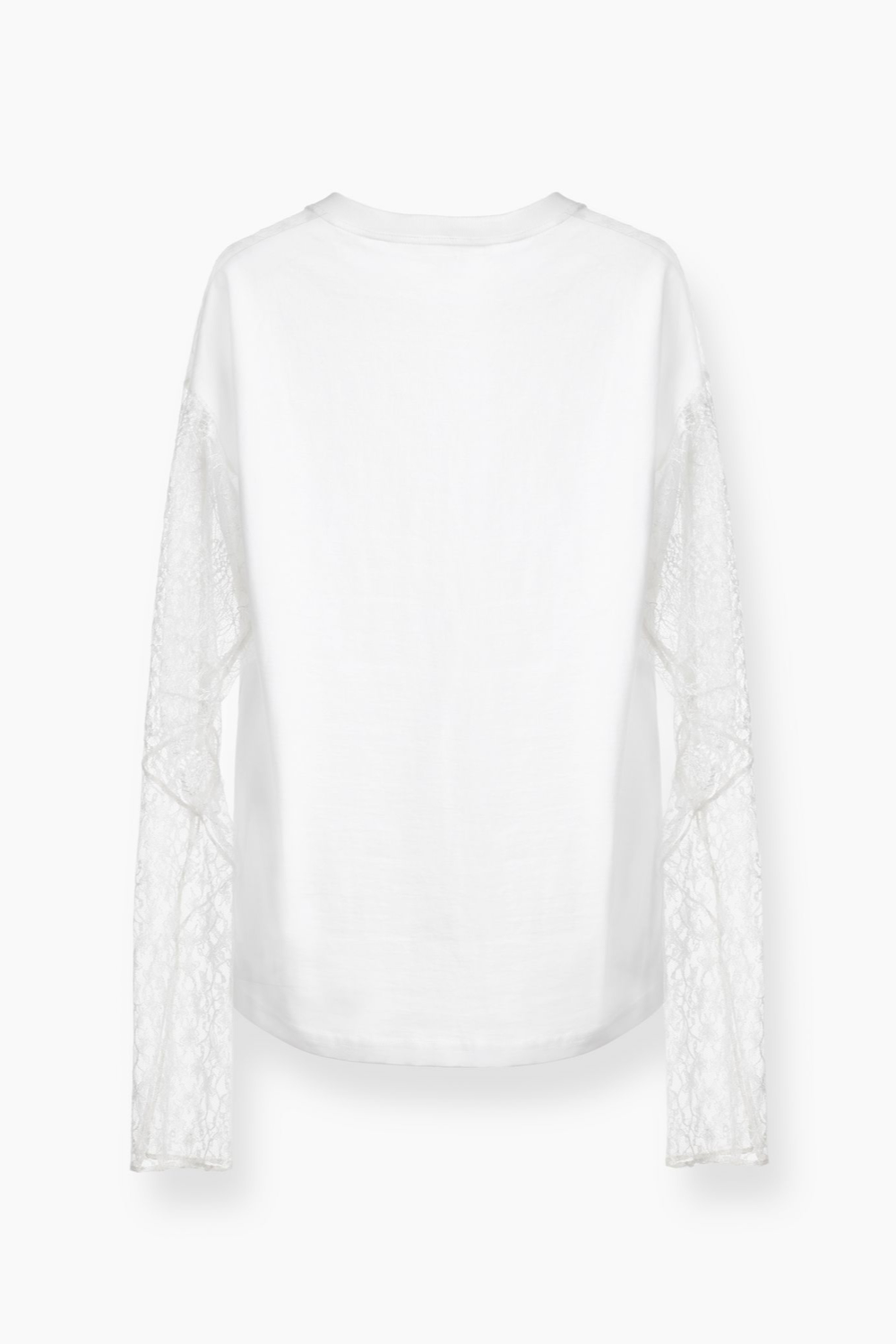 Lace Jersey Cotton Top - The Bobby Boga