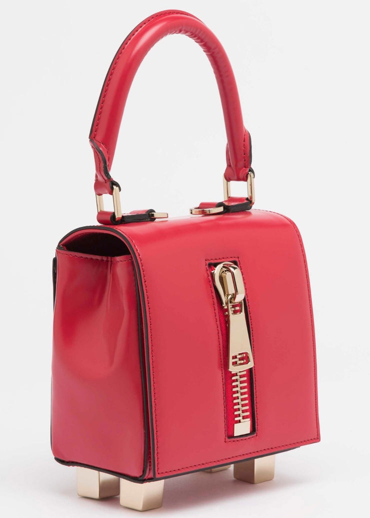 LK Memphis Leather Red Mini Bag