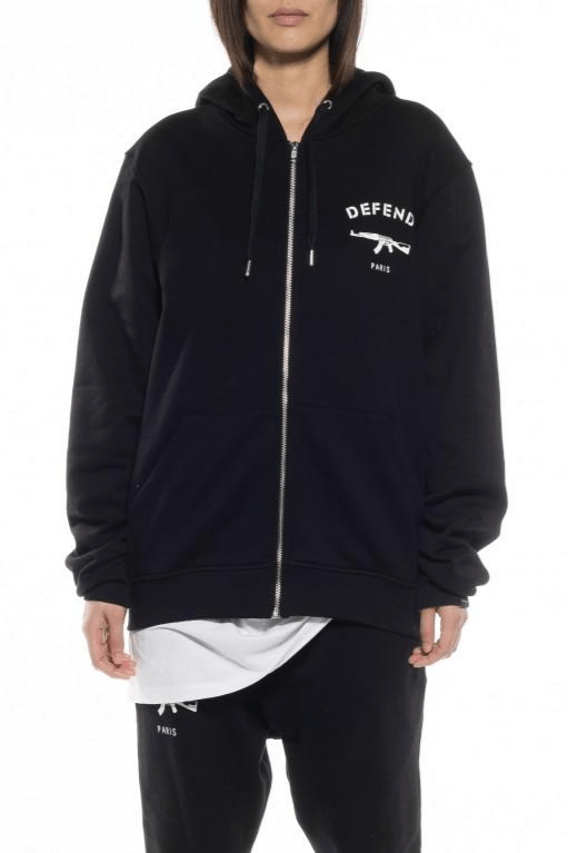 Paris ZIP Cotton Hood - The Bobby Boga