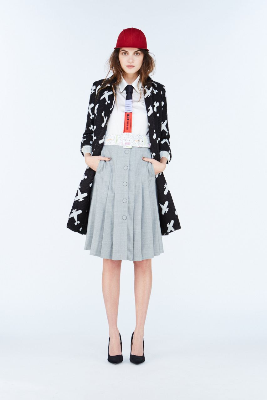 Skirt School Gris - The Bobby Boga