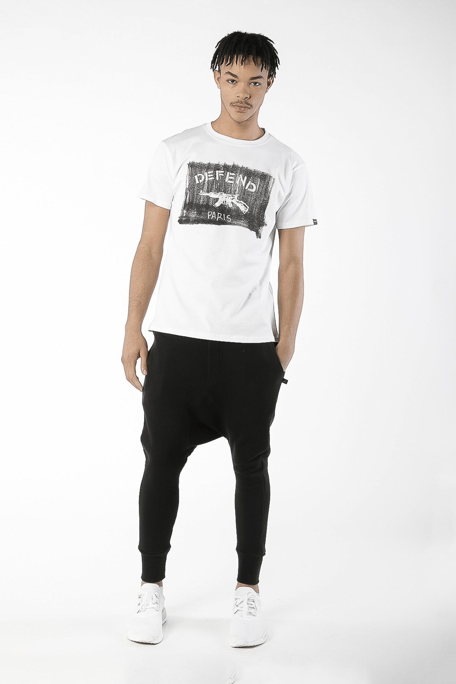 Bendigo Cotton Tee White - The Bobby Boga