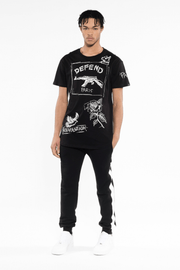 T-Shirt  Melbourne Black