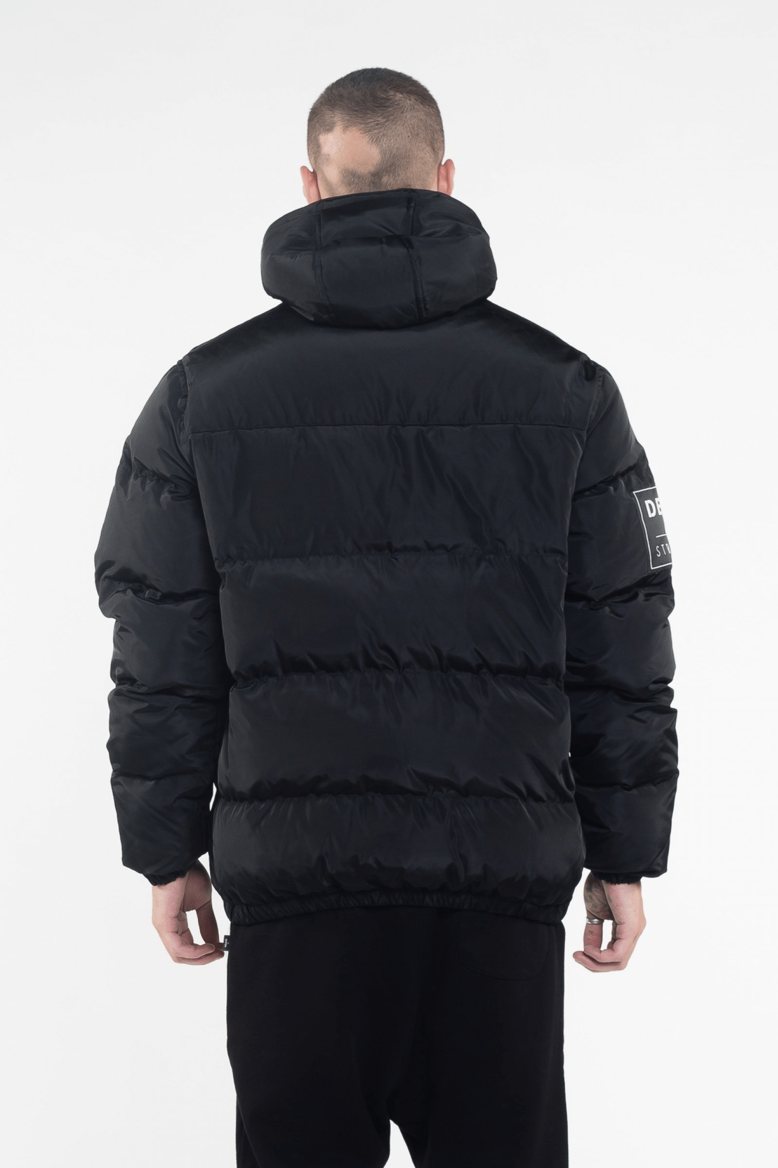 VIK Black Down Jacket - The Bobby Boga