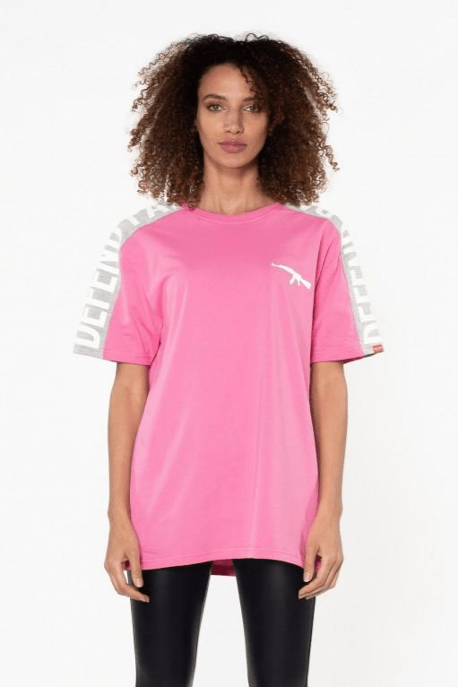 Stark Cotton Tee Pink - The Bobby Boga