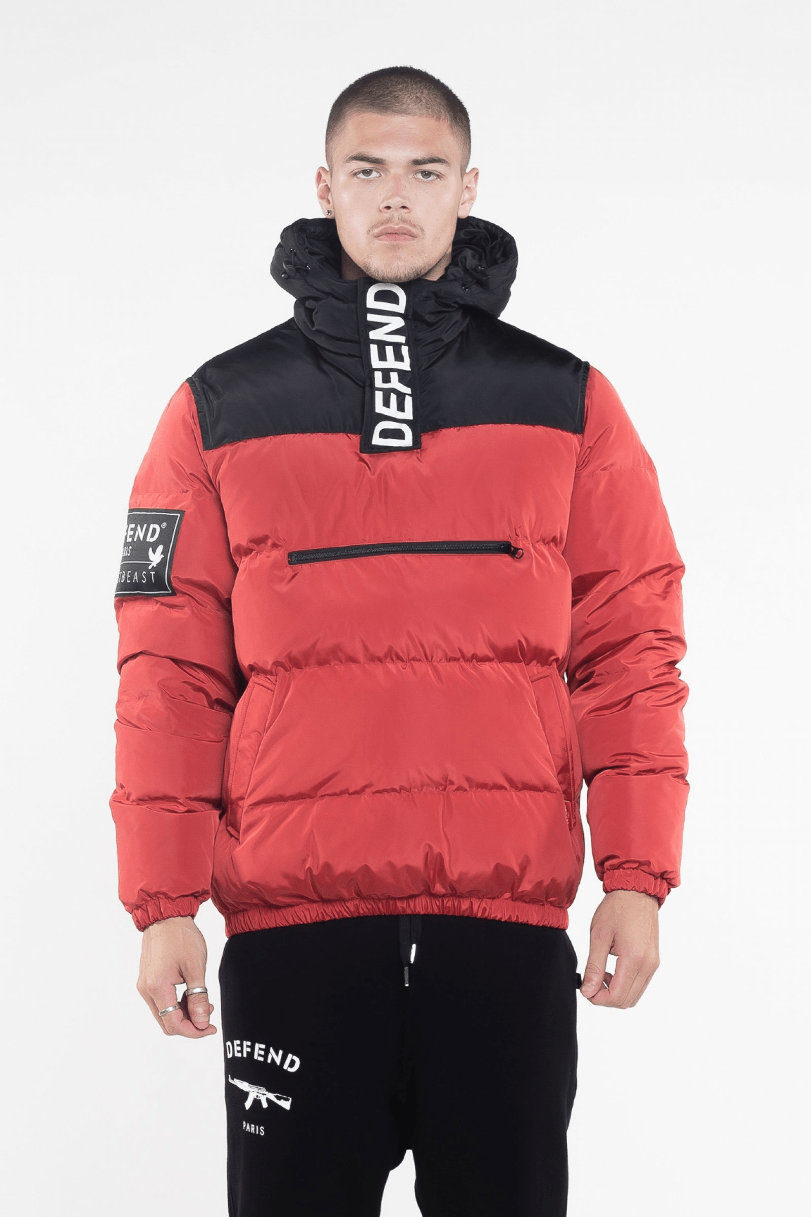 VIK Red Down Jacket - The Bobby Boga