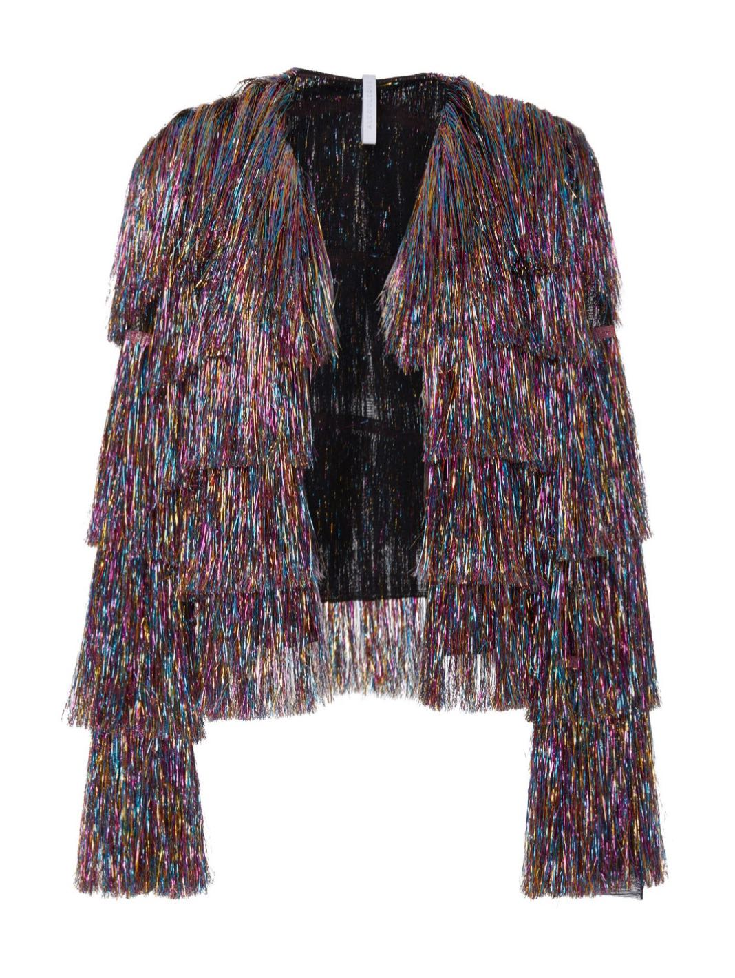 Chantal Rainbow Bolero Jacket - The Bobby Boga