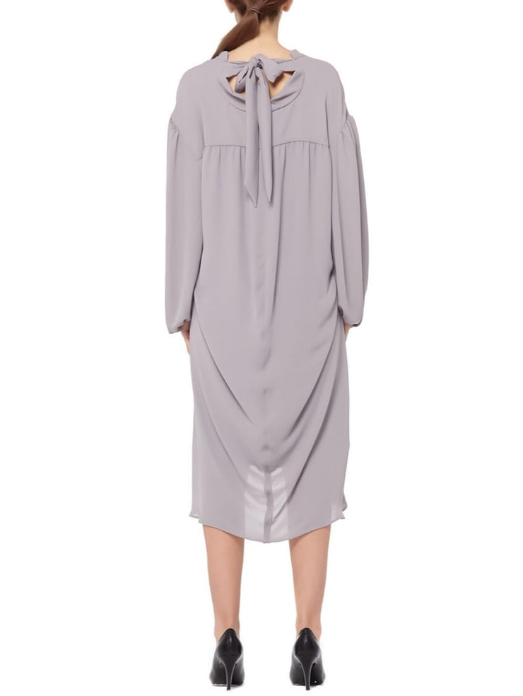 Balenciaga Bow Tie Draped Dress-THE BOBBY BOGA