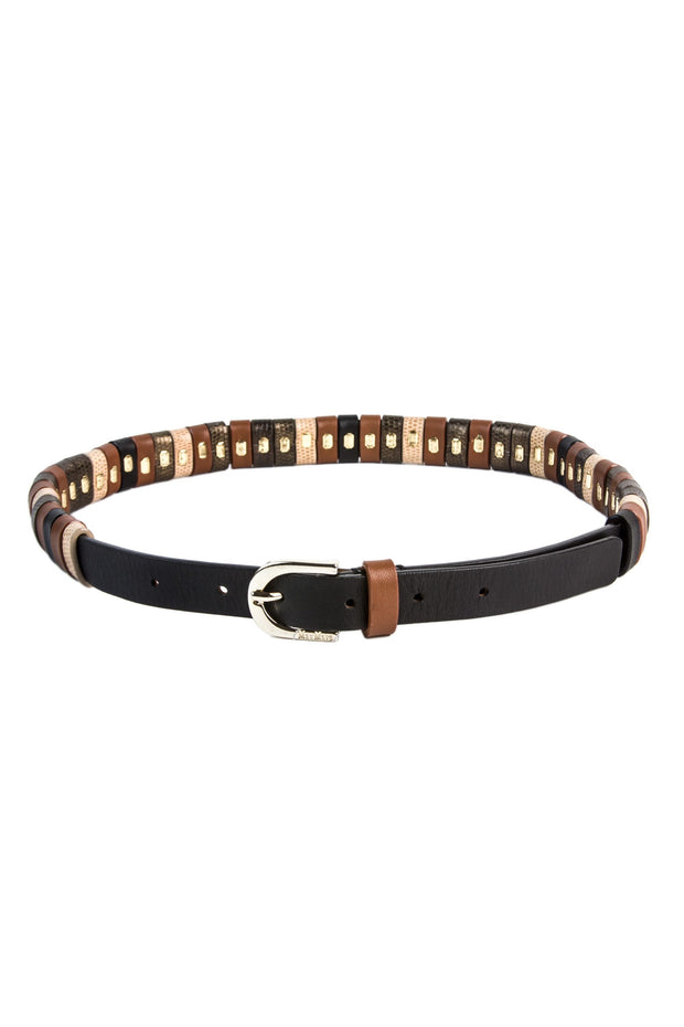Gelada Leather Belt