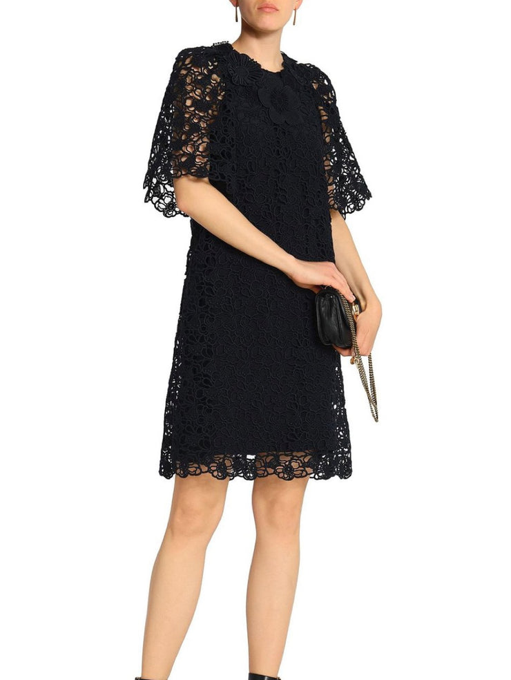 Chloe Guipure Macrame Dress