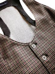 Dual Jimmy Wool Vest-THE BOBBY BOGA