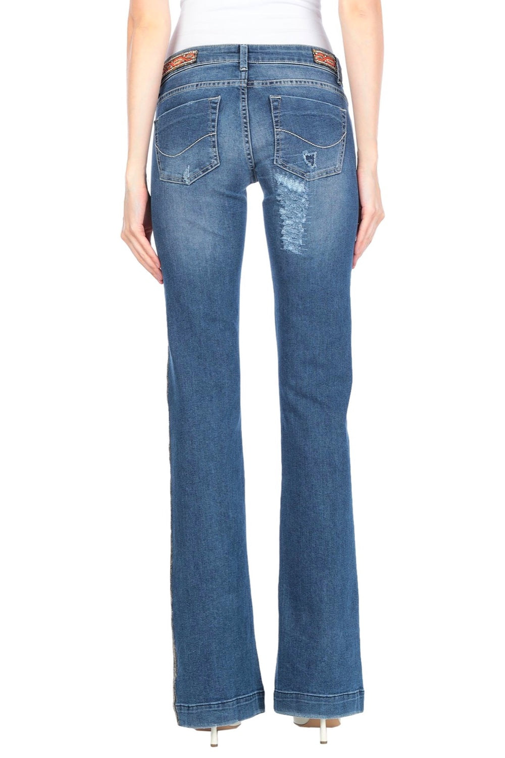 No.5 Embroidered Jeans - The Bobby Boga