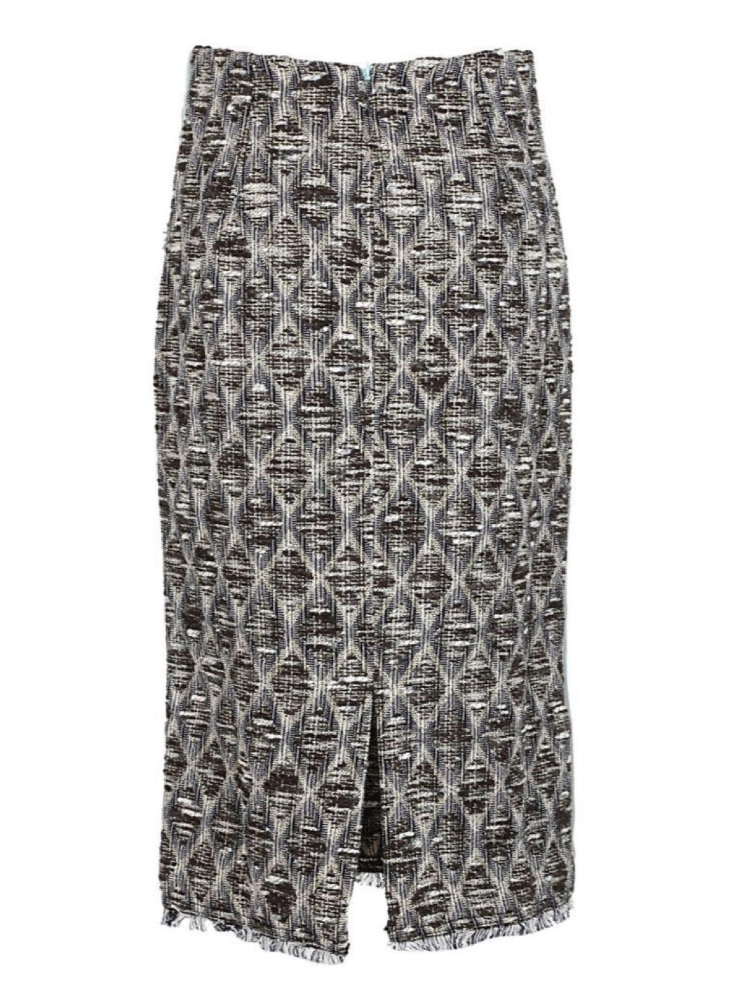 Knitted Skirt Grey - The Bobby Boga