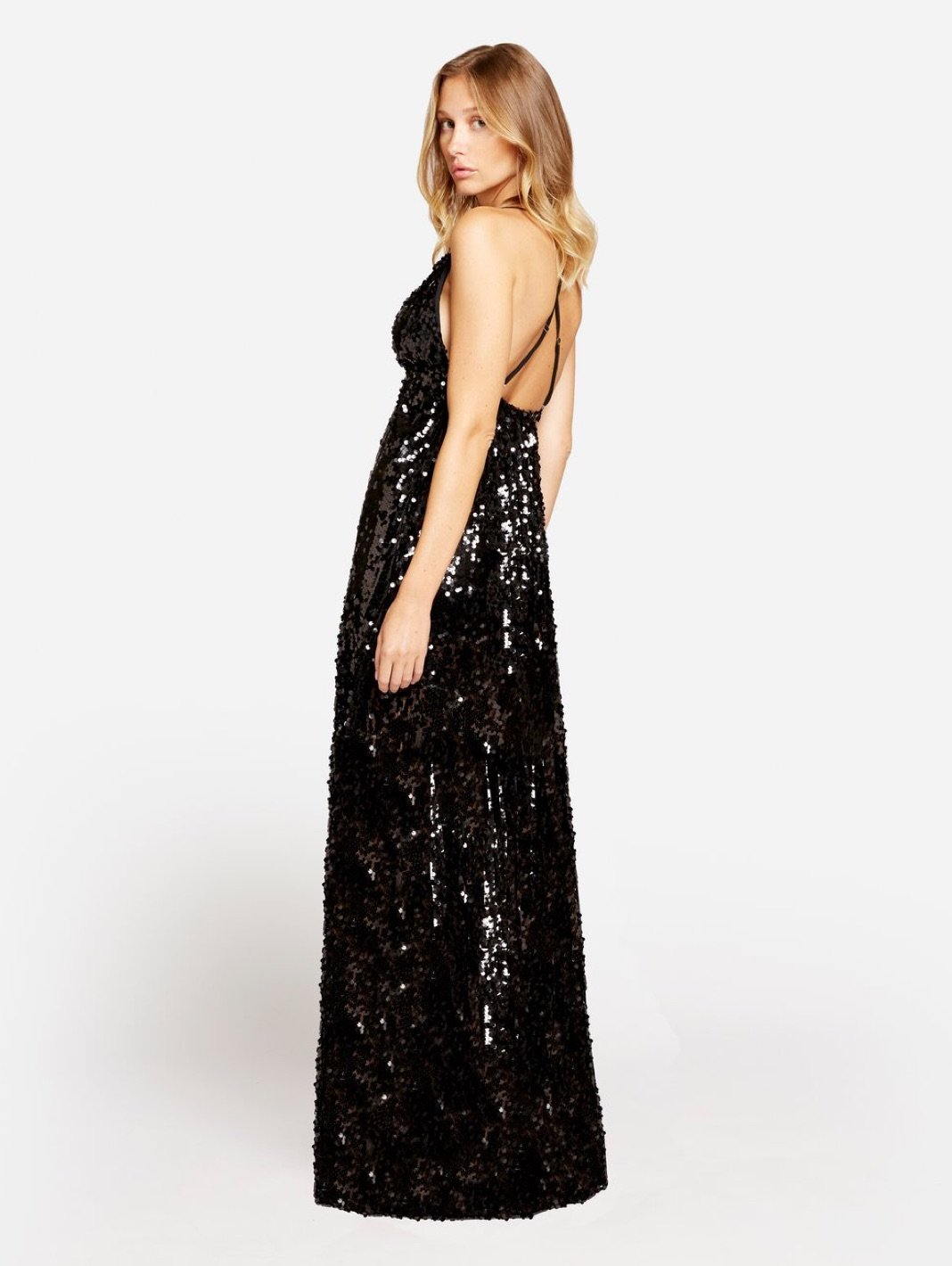Eyes On Me Sequins Maxi Dress - The Bobby Boga
