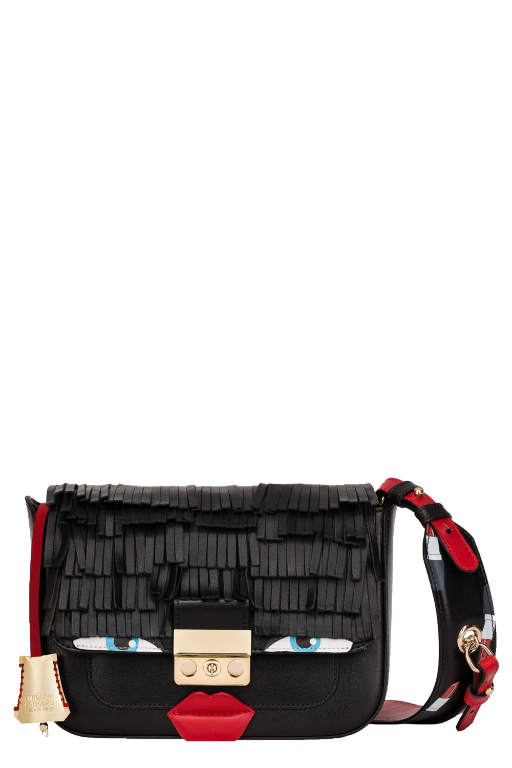 Silly Fringe Leather Mini Bag - The Bobby Boga