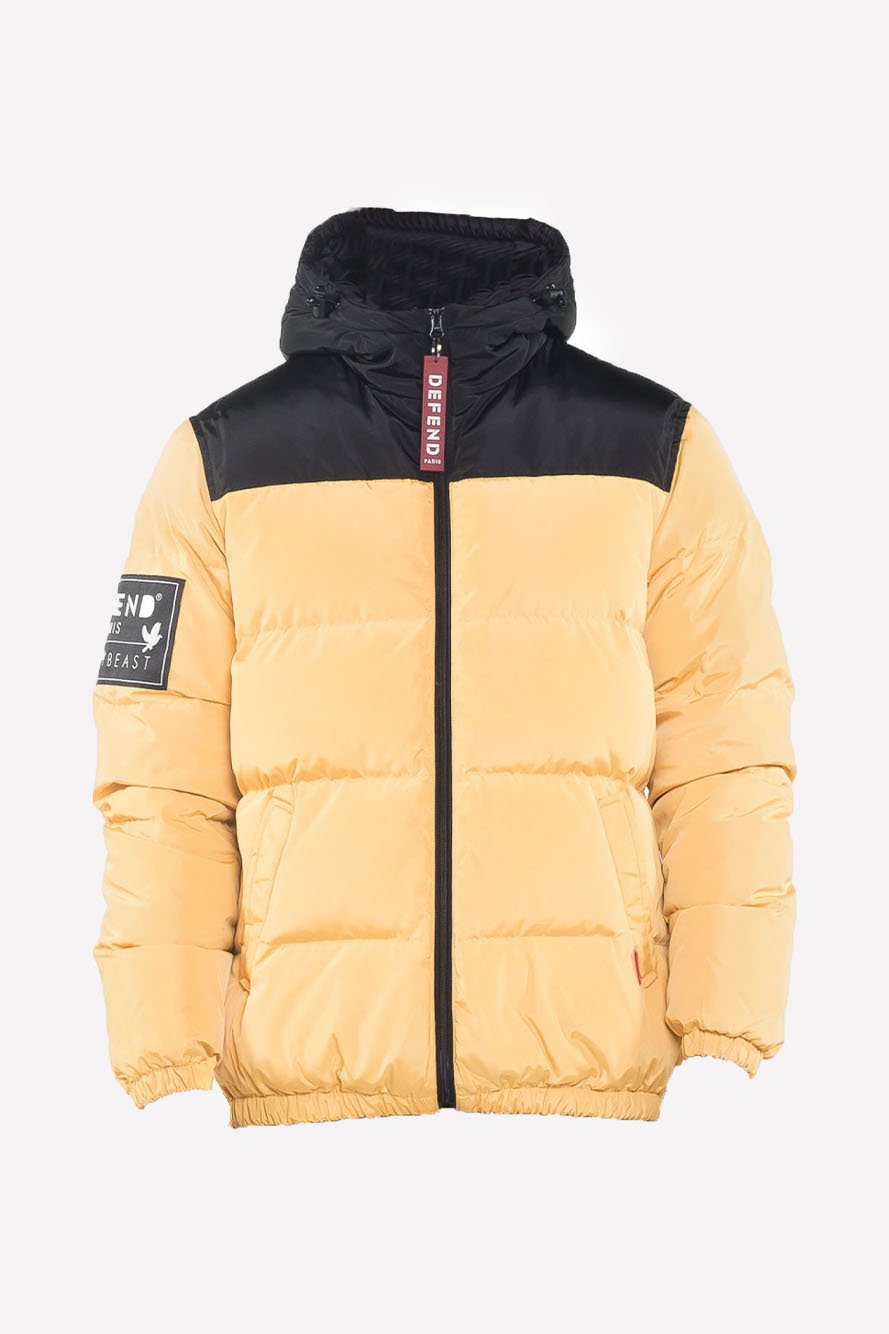 Kalsoy Down Jacket Yellow - The Bobby Boga