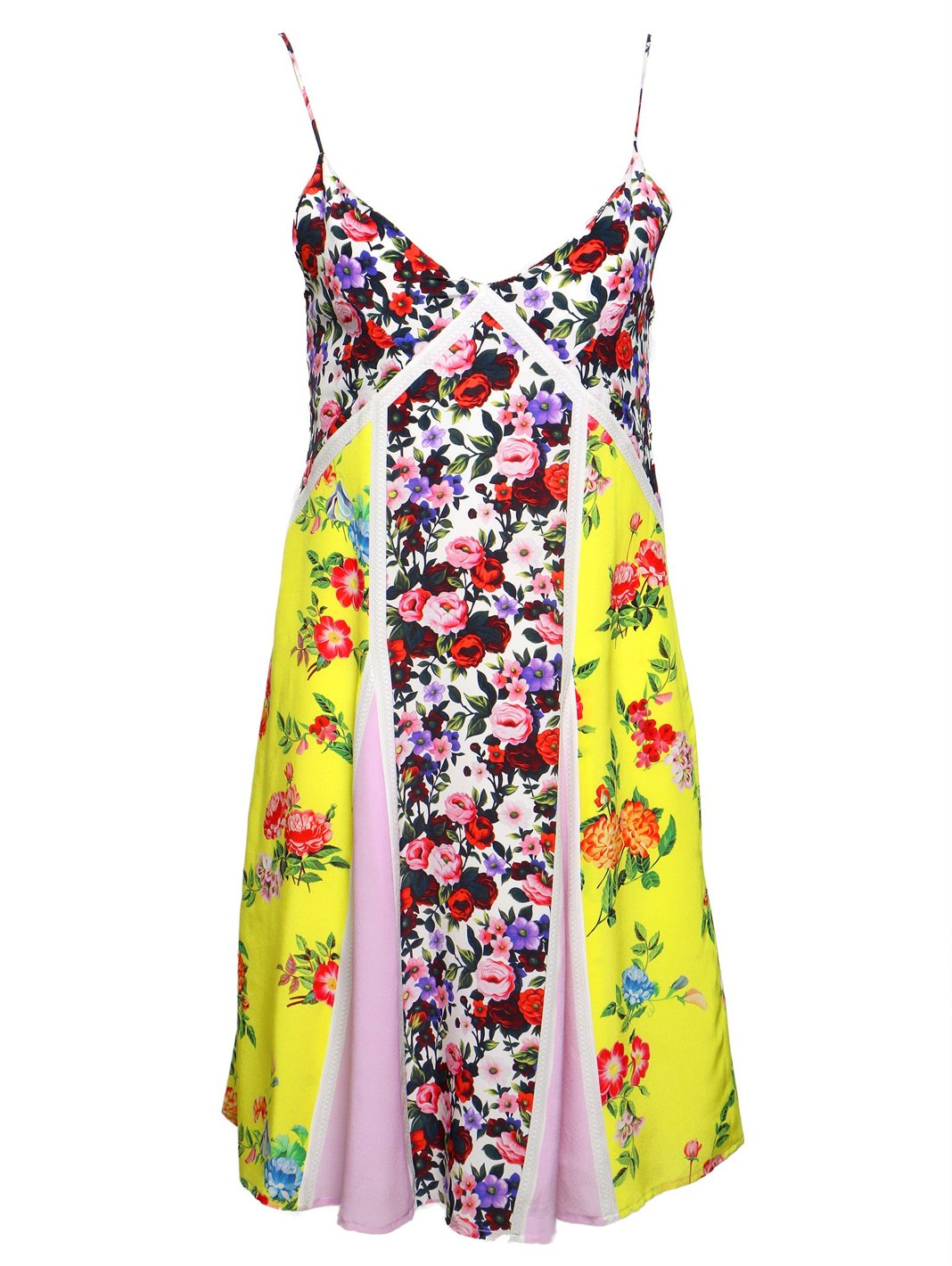 St. Gardenia Print  Dress - The Bobby Boga