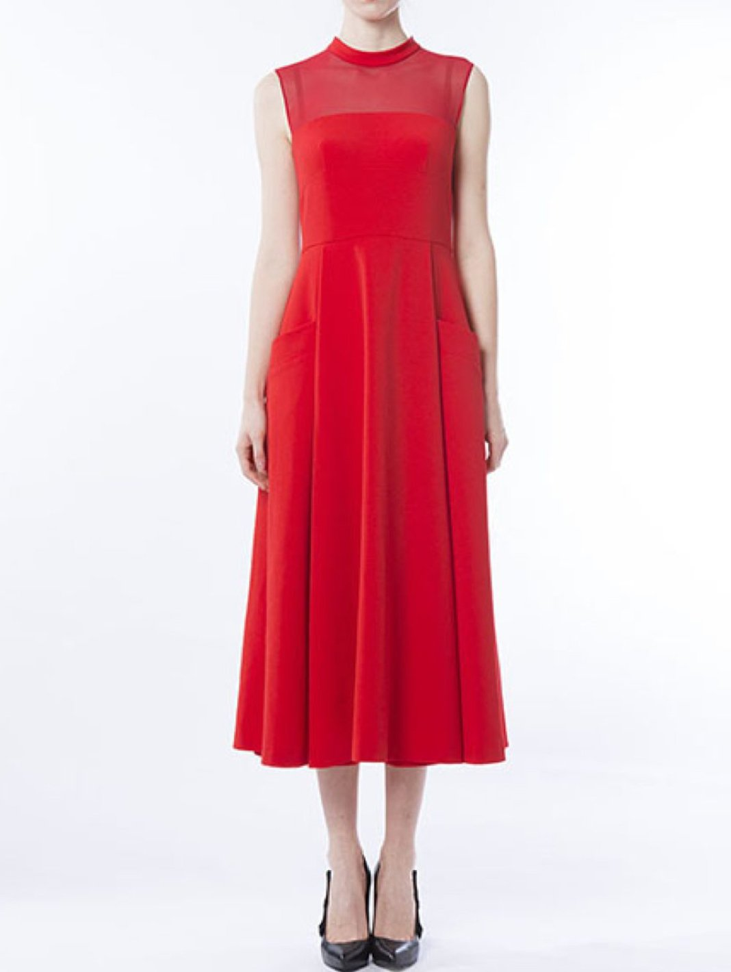Midi Flared Dress - The Bobby Boga