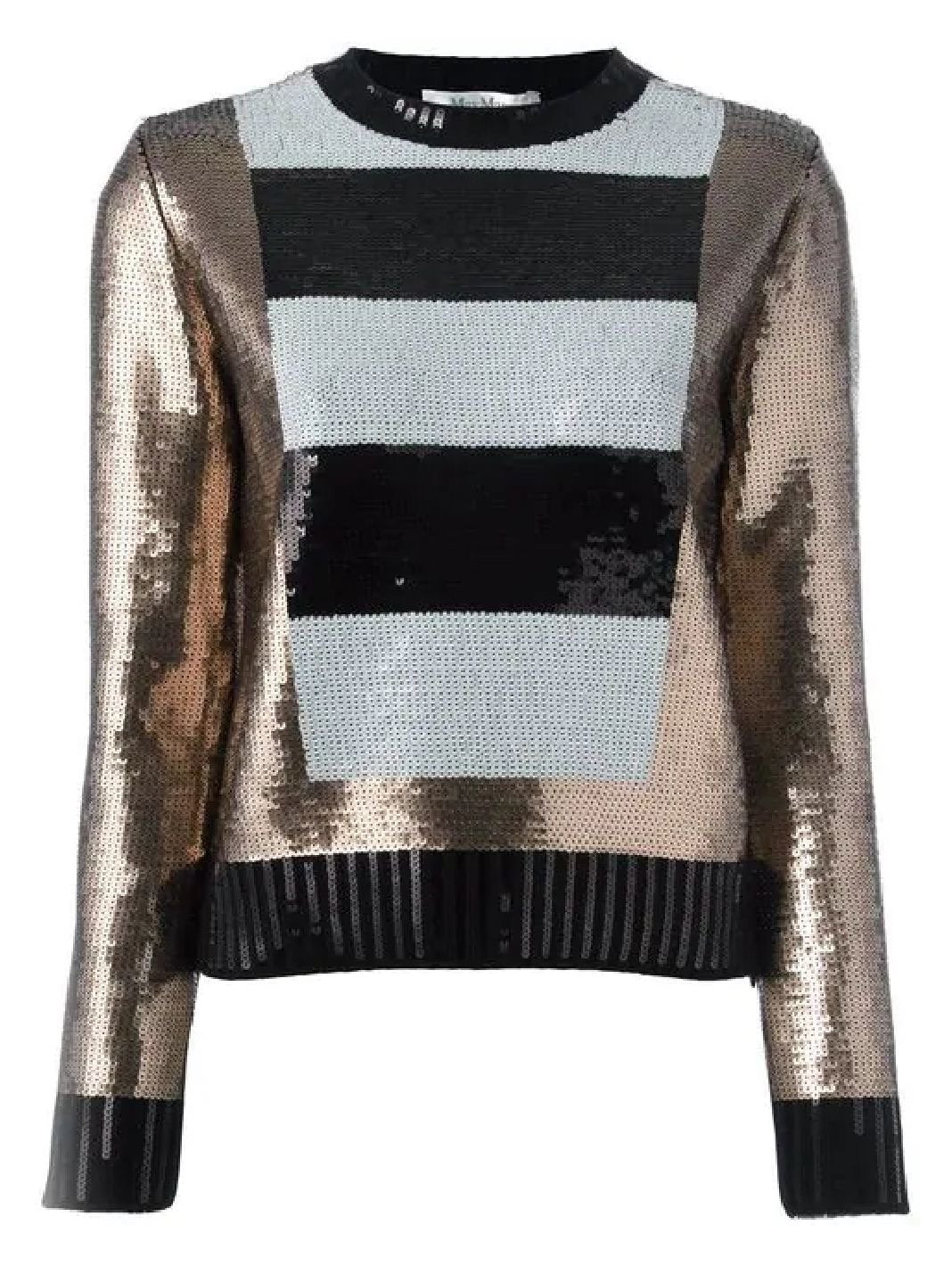 Baviera Sequin Wool Pullover - The Bobby Boga