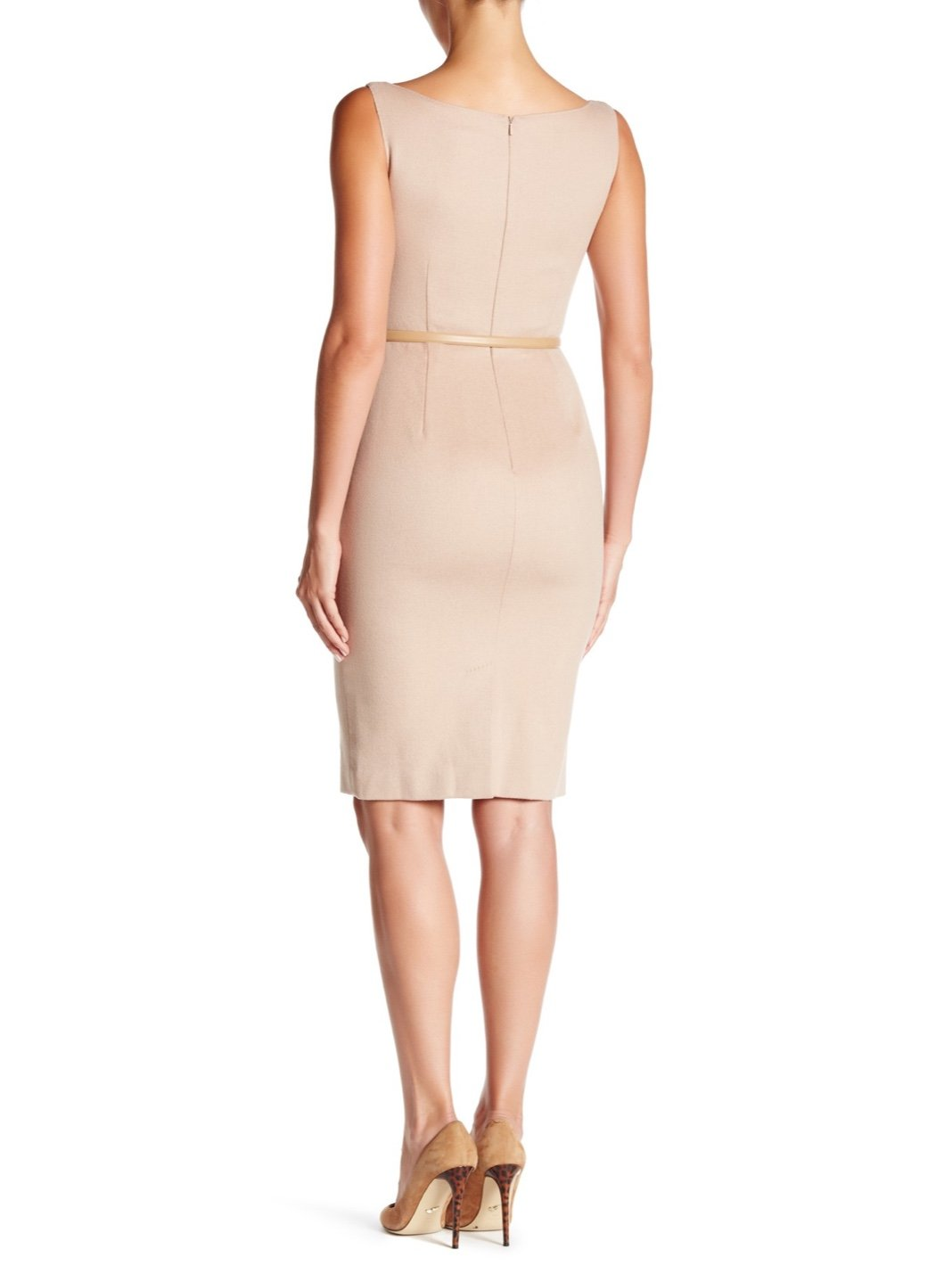 Colmo Wool Sheath Dress - The Bobby Boga