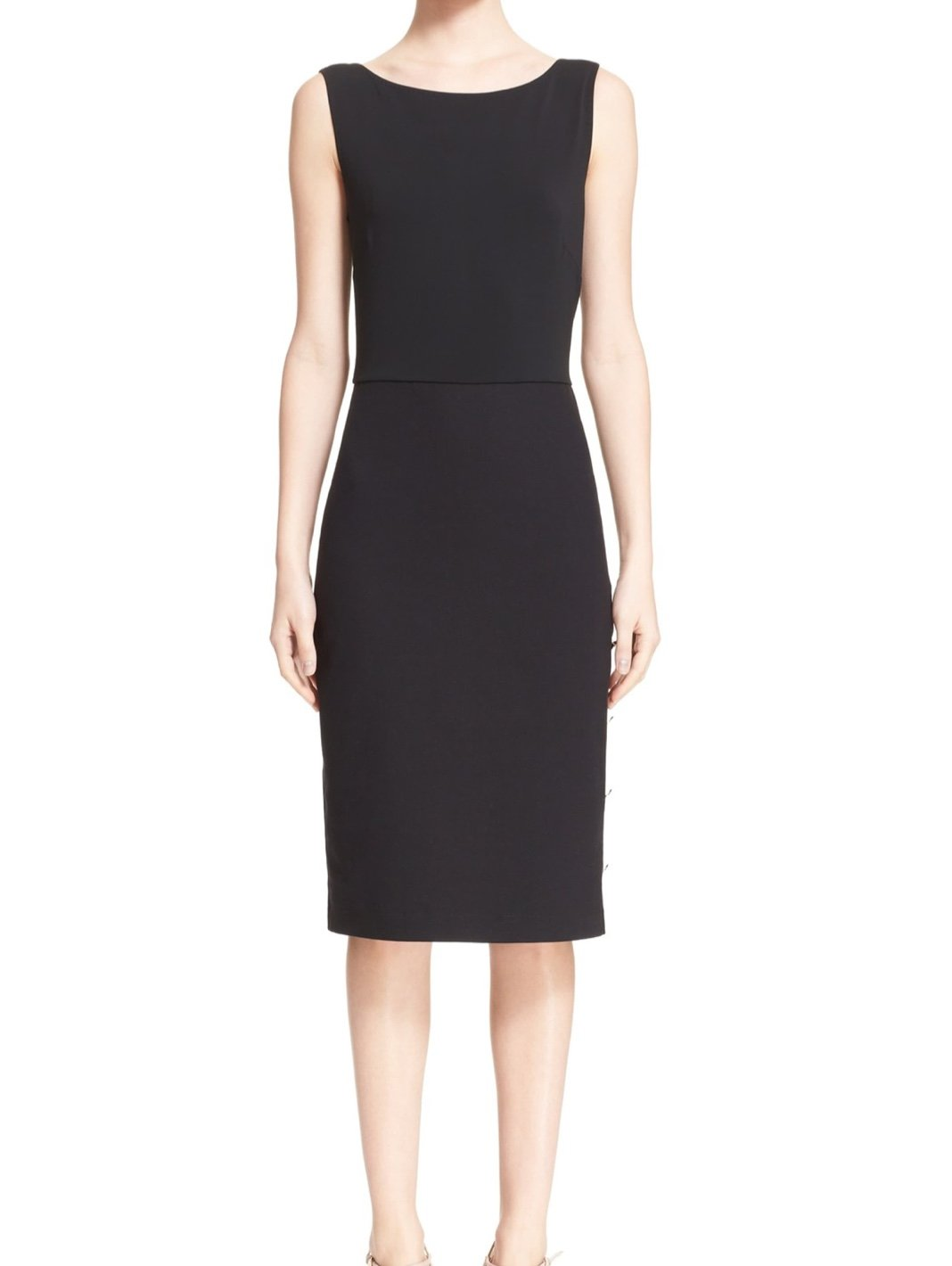 Bassano Jersey Sheath Dress - The Bobby Boga