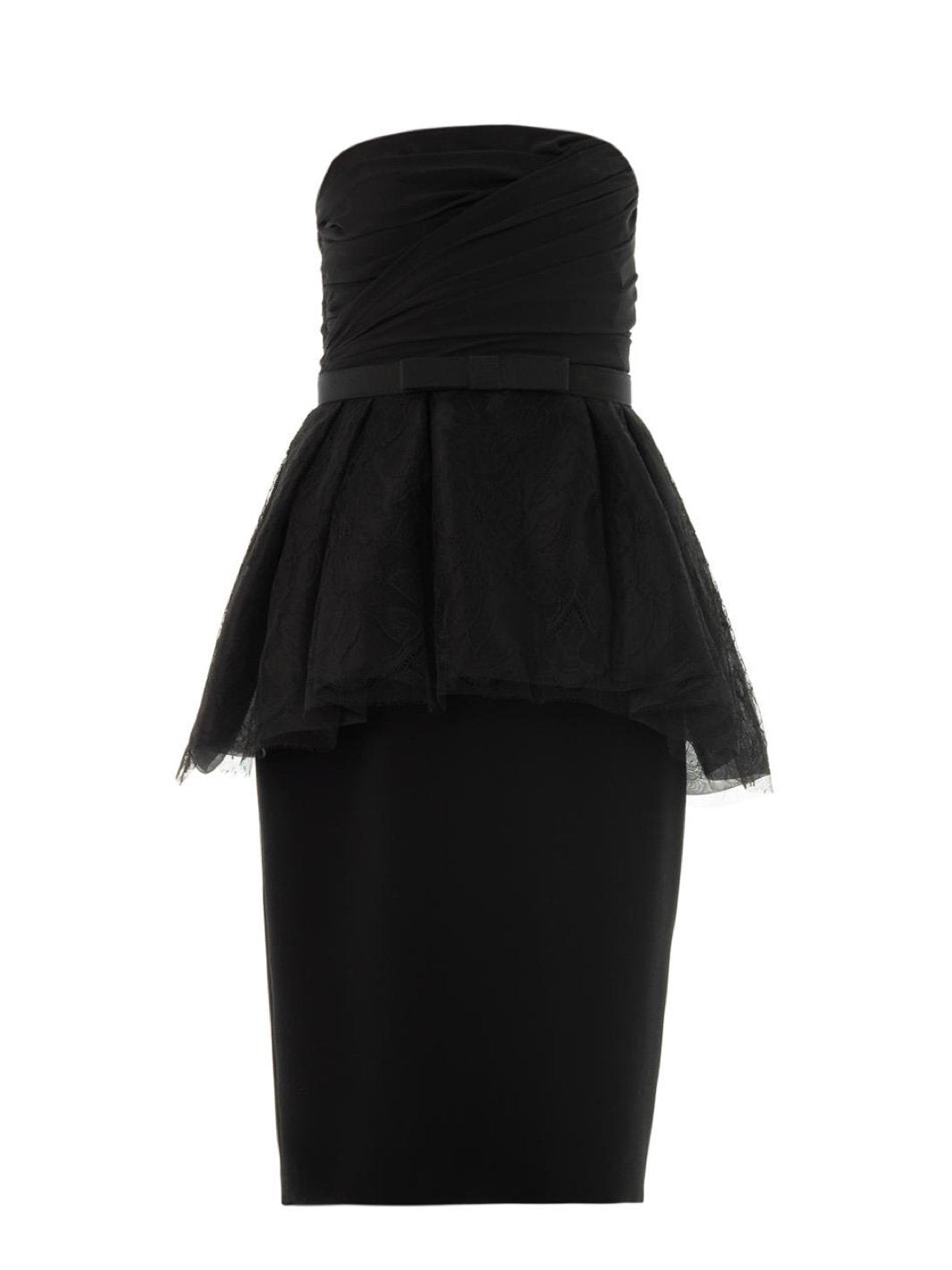 Haven Straight Strapless Cocktail Dress - The Bobby Boga