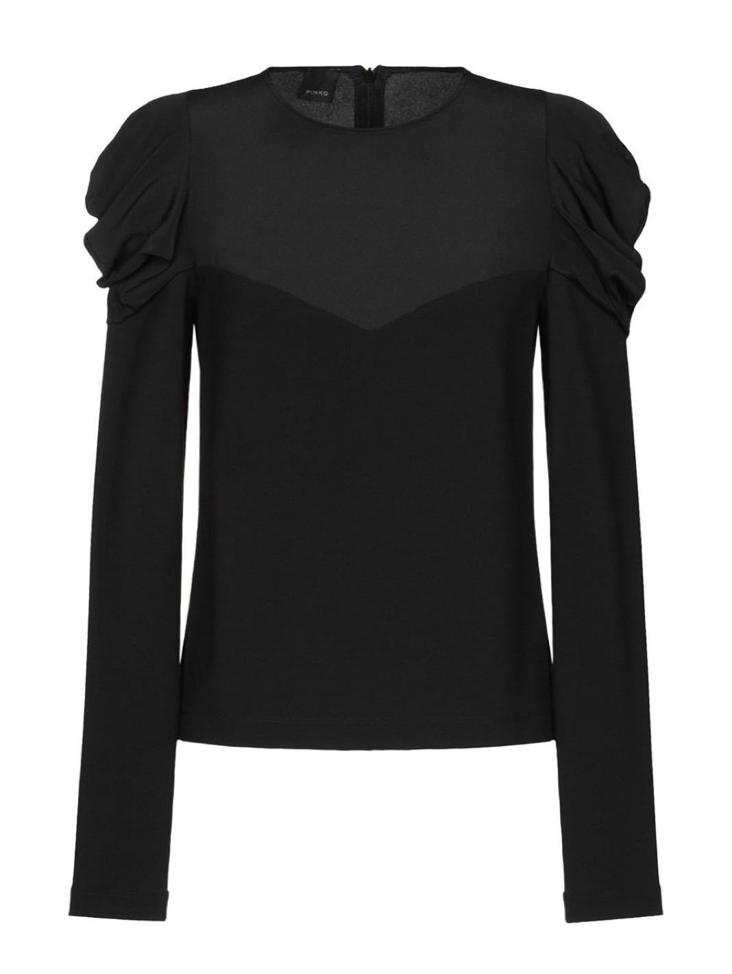 Antira Jersey Crepé Blouse - The Bobby Boga