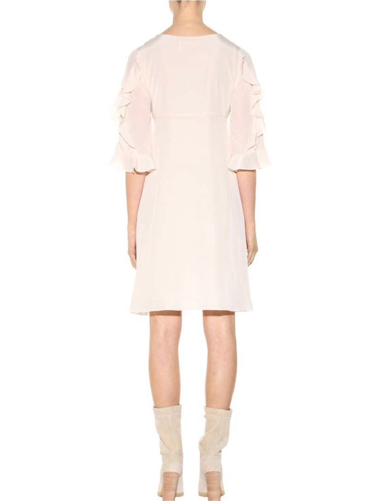 Silk Crepe de Chine Dress-THE BOBBY BOGA