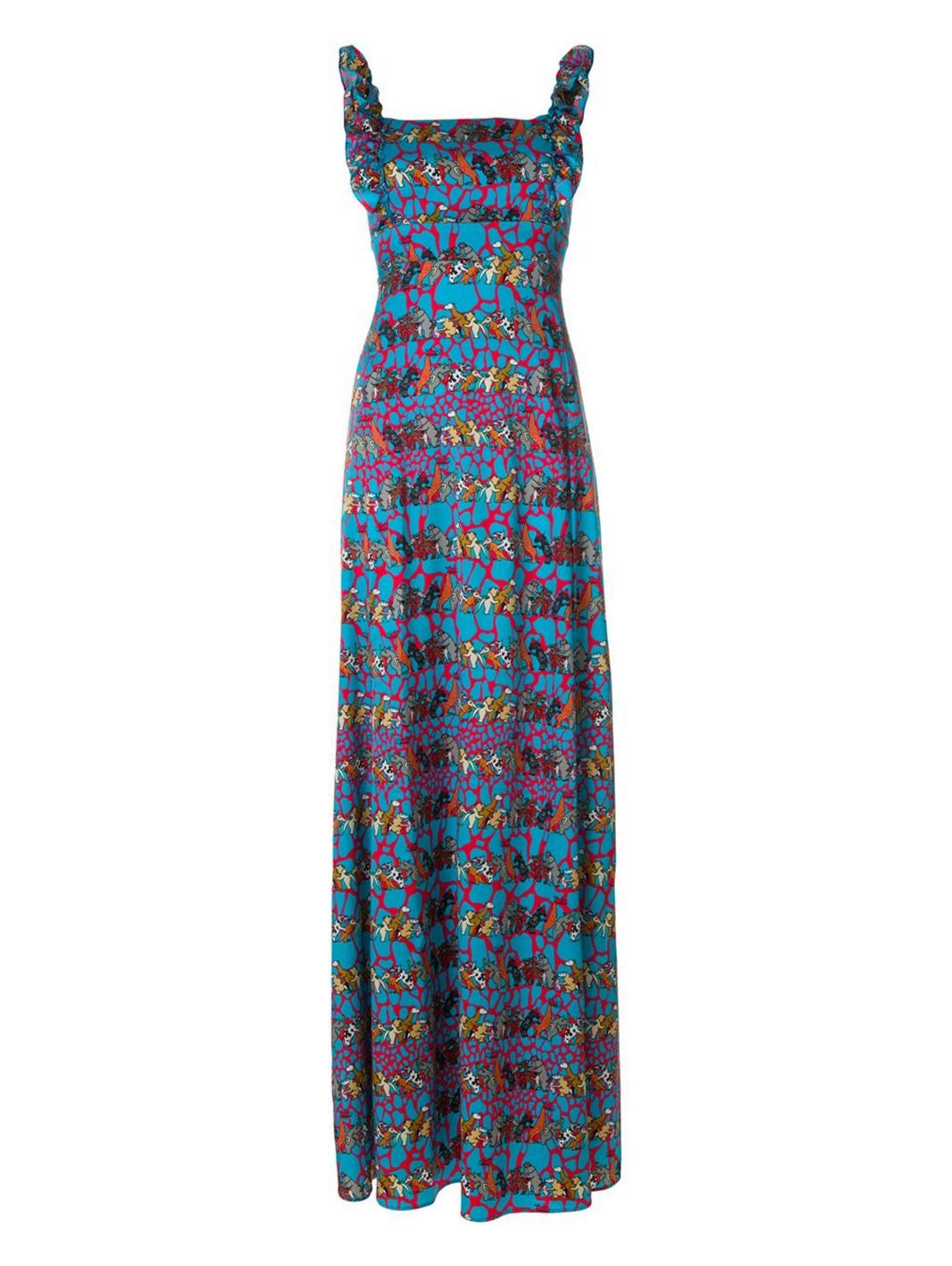 Party Animal Print Silk Dress - The Bobby Boga