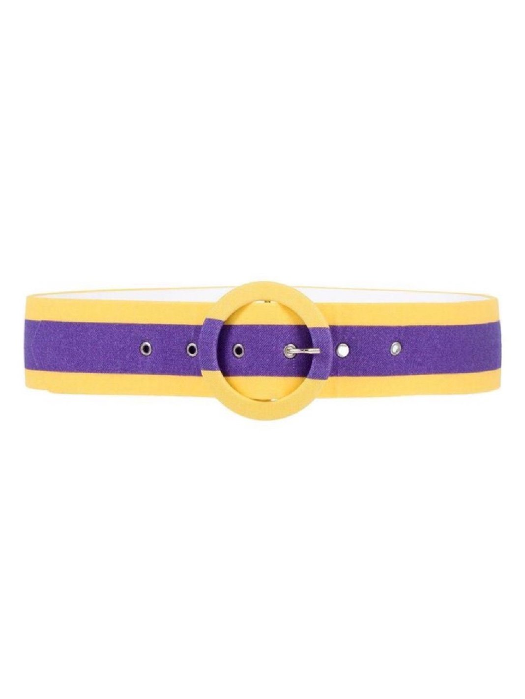 Stripe Wool-Blend Belt - The Bobby Boga