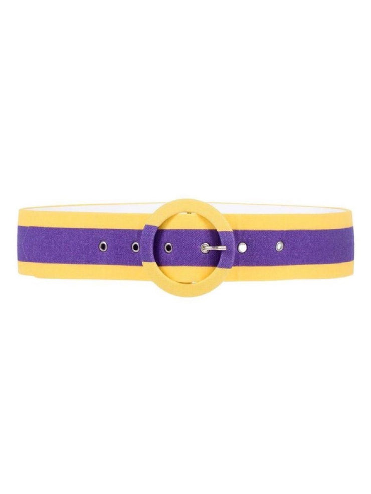 Ultrachic Stripe Wool-Blend Belt