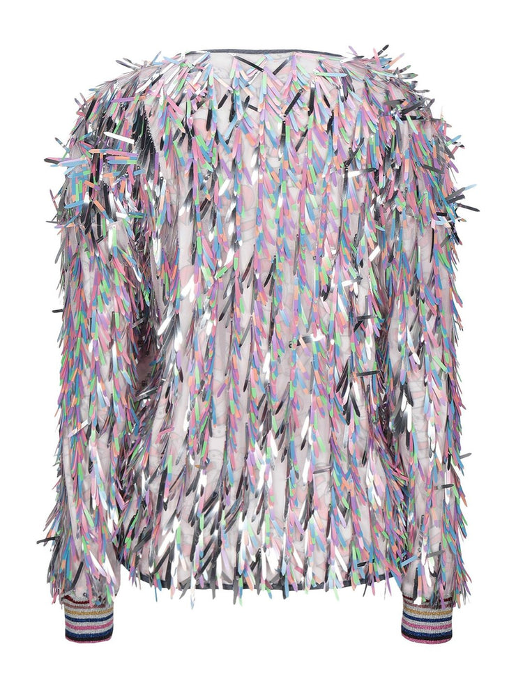 Ultrachic Angels Sequins Bomber