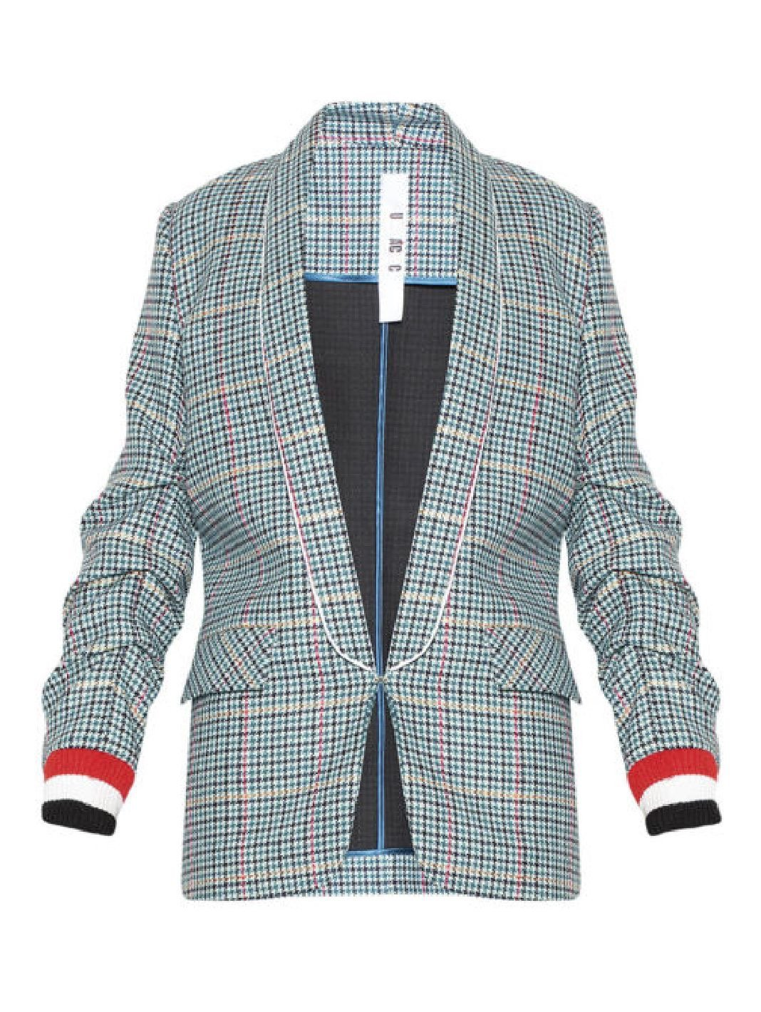 Sea Check Blazer - The Bobby Boga