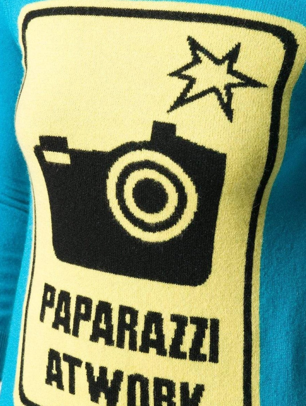 Paparazzi Wool-Blend Pullover - The Bobby Boga