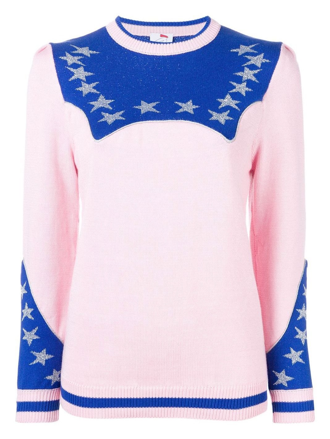 Stars Cotton-Blend Pullover - The Bobby Boga