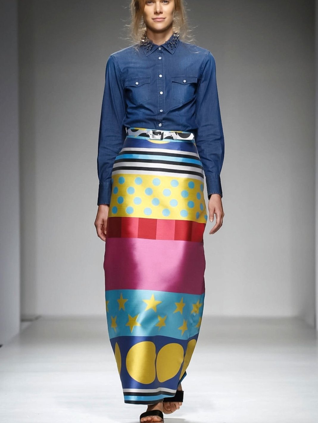 Maxi Skirt Pop Art - The Bobby Boga